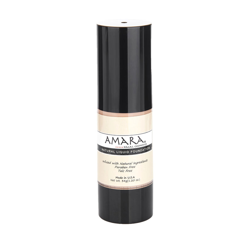 Amara Liquid Foundation Light Color Front