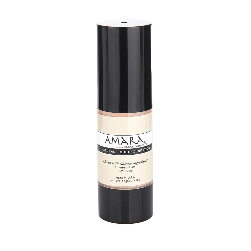Amara Liquid Foundation Medium Color Front