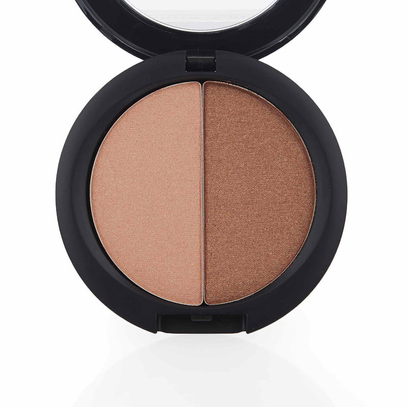 Amara Press Blush & Bronzer - Bronze Open