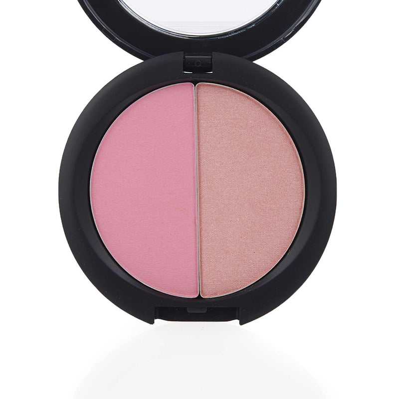 Amara Press Blush & Bronzer - Pink Porcelain Open