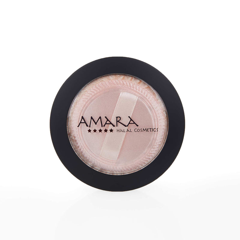 Amara Press Powder Foundation Closed Box