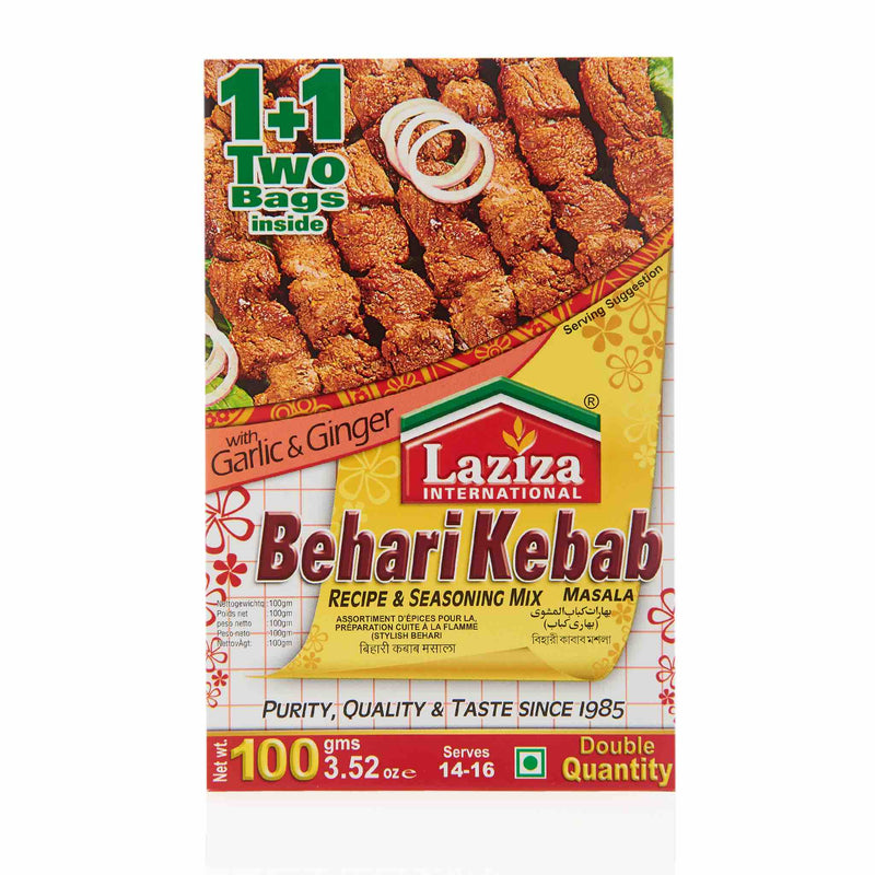 Laziza Seekh Kebab Recipe Mix
