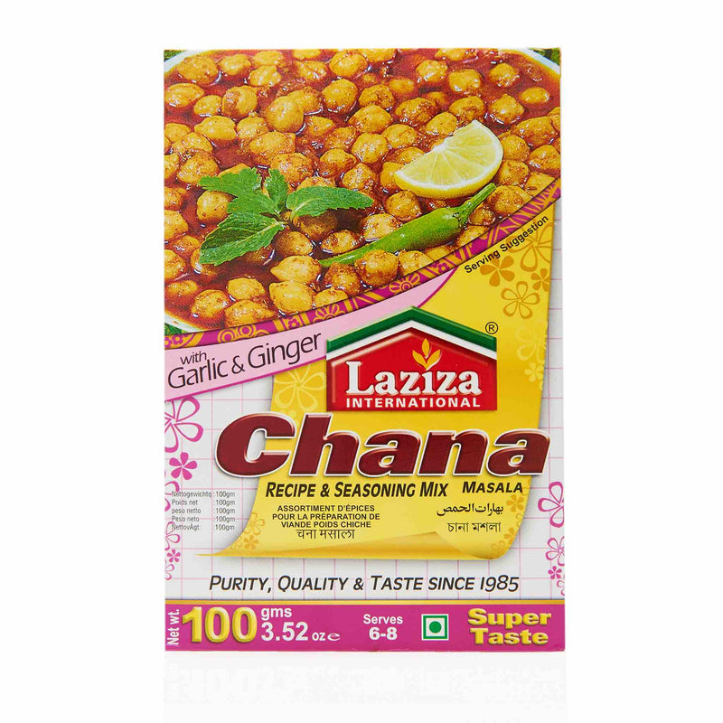 Laziza Chana Masala Recipe Mix - Main