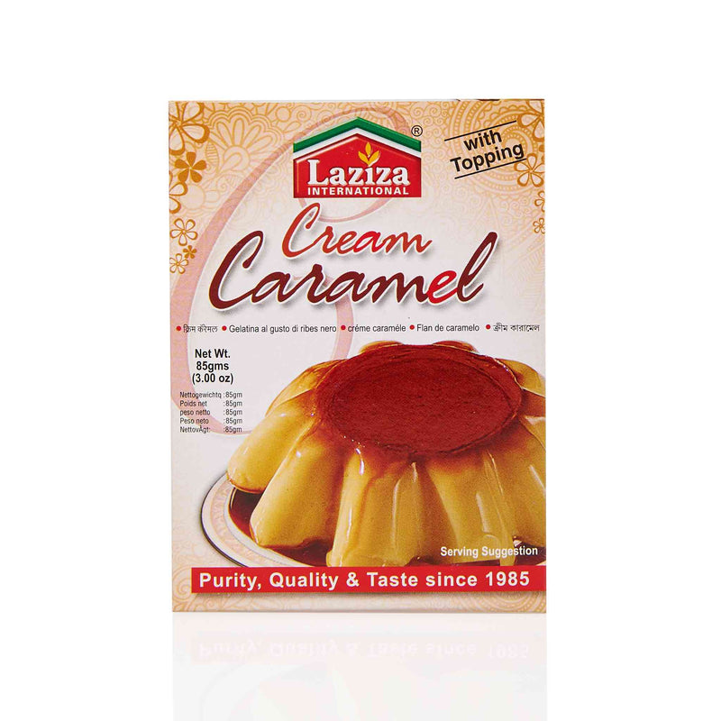 Laziza Cream Caramel Pudding Mix - Main