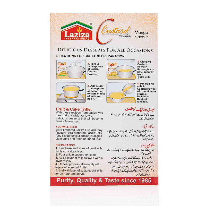 Laziza Custard Powder - Strawberry