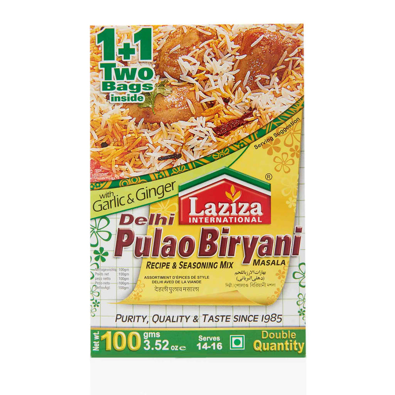 Laziza Delhi Pulao Biryani Recipe Mix - Main