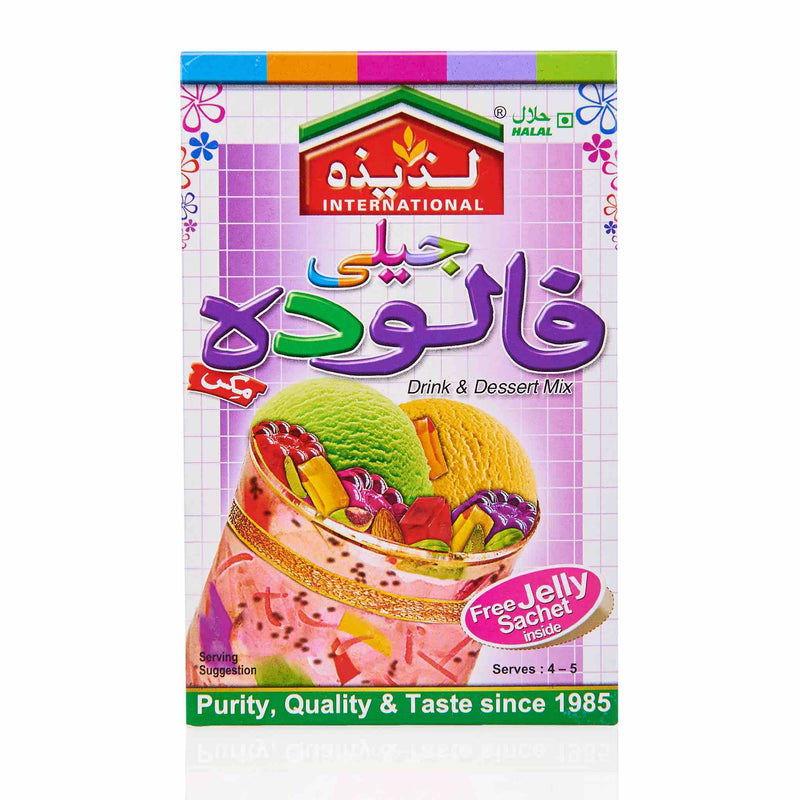Laziza Jelly Falooda Mix - Back