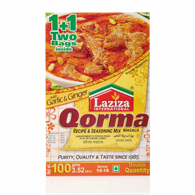Laziza Qorma Recipe Mix - Main