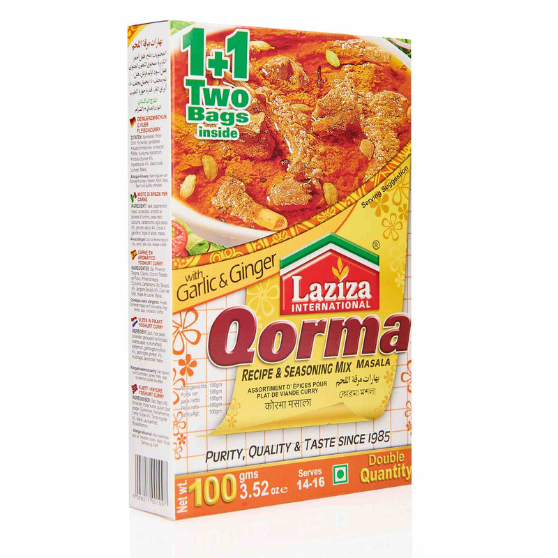 Laziza Qorma Recipe Mix - Front