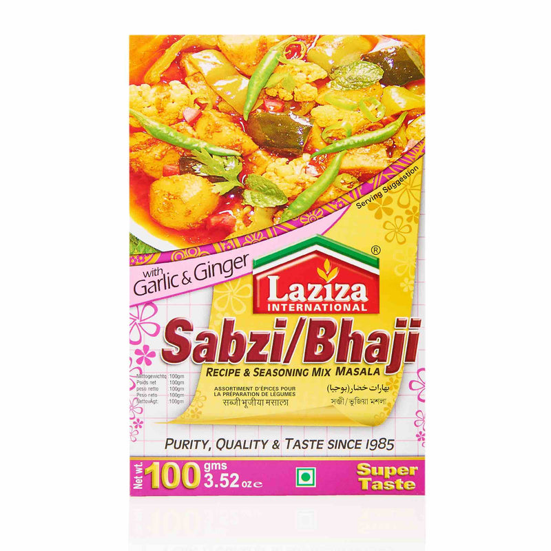 Laziza Sabzi Bhaji Recipe Mix - Main