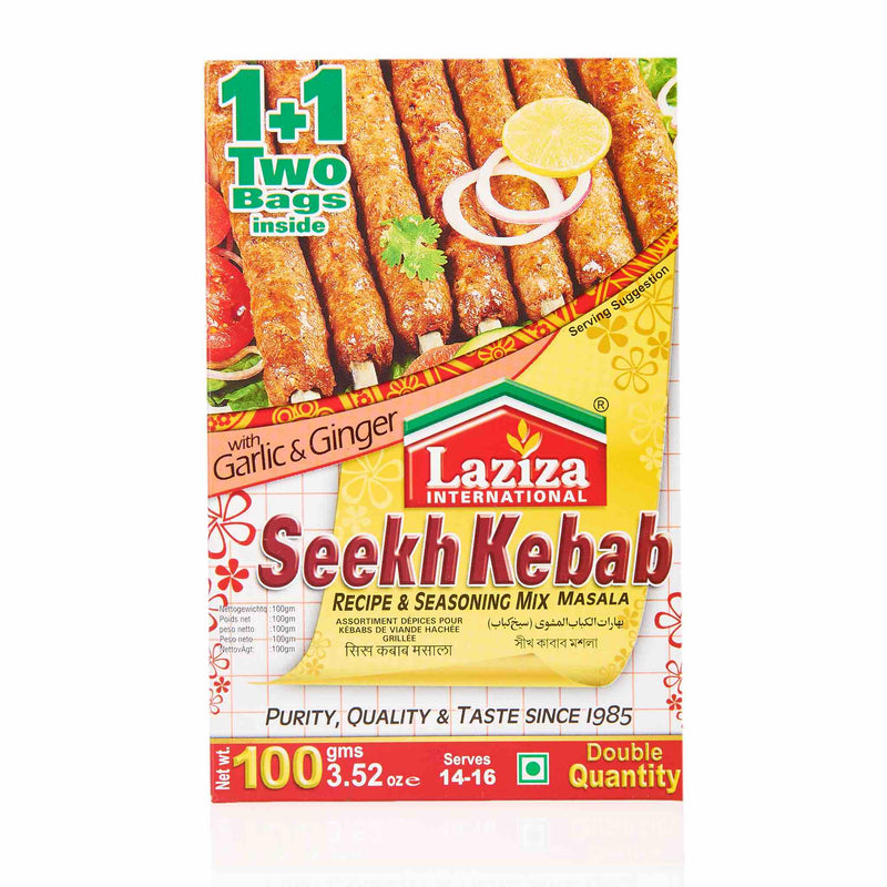 Laziza Seekh Kebab Recipe Mix - Main