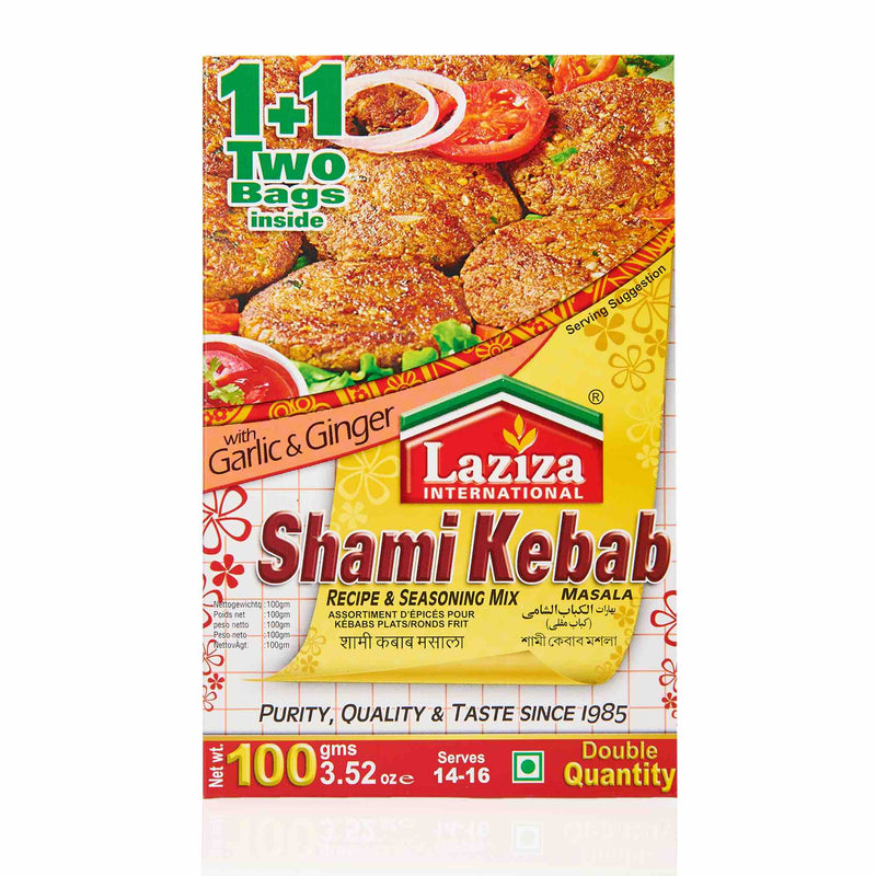 Laziza Shami Kebab Recipe Mix - Main