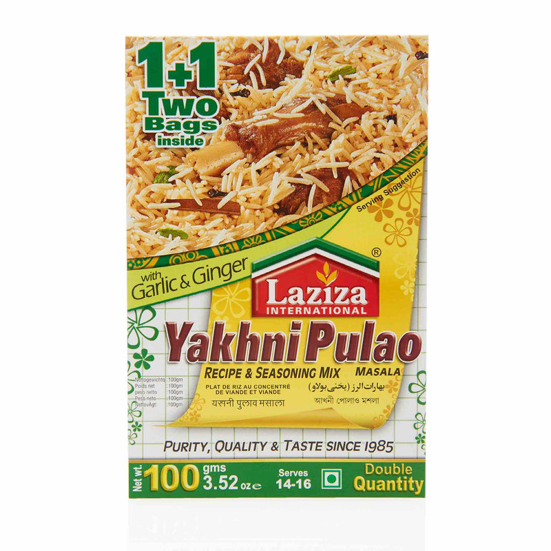 Laziza Yakhni Pulao Recipe Mix - Main
