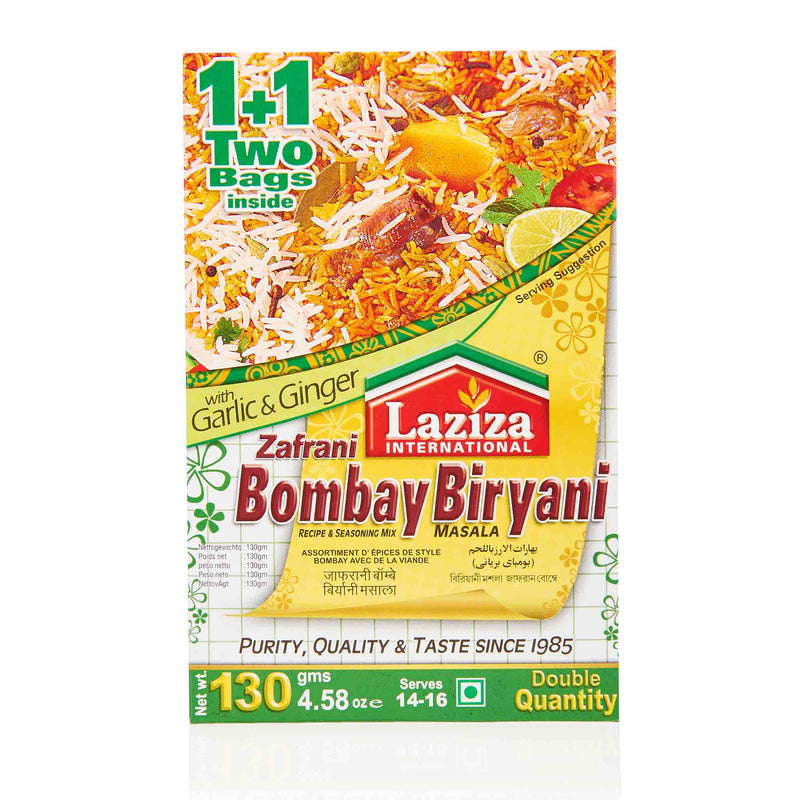 Laziza Zafrani Bombay Biryani Recipe Mix - Main