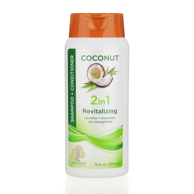 Madina 2 in 1 Shampoo and Conditioner - Front