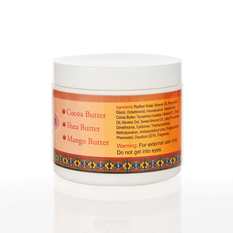 Madina Halal 3 in 1 Body Butter Cream - Ingredients