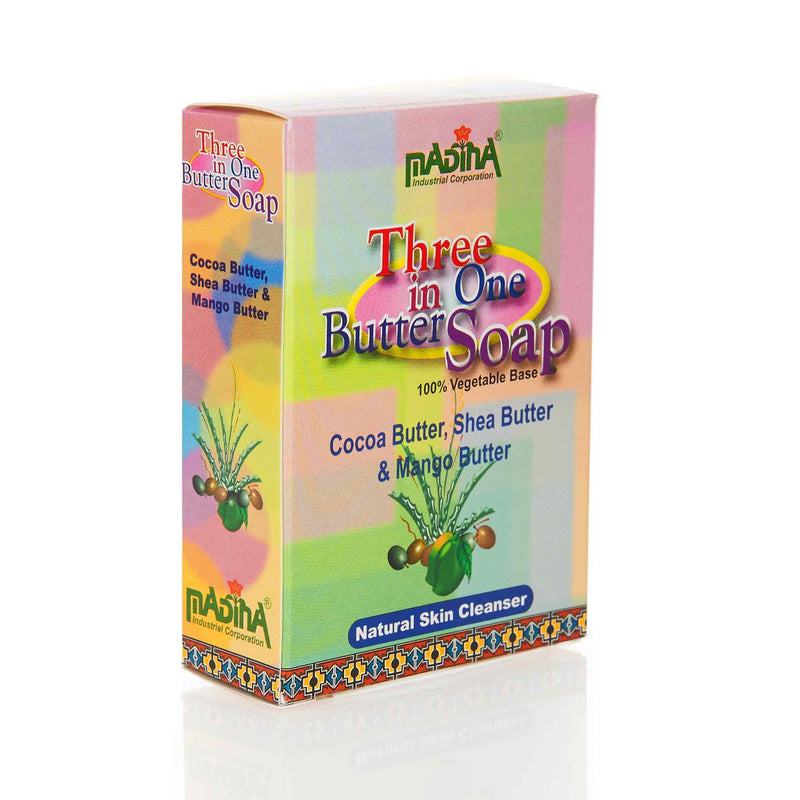 Madina Halal 3 in 1 Butter Soap - Back
