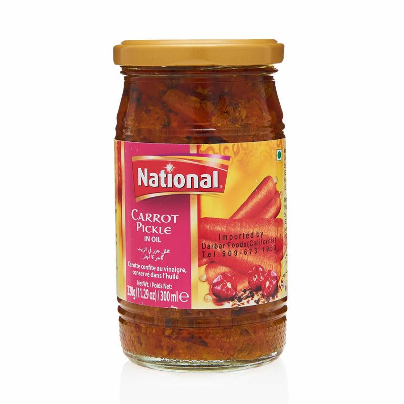 National Carrot Pickle - Front