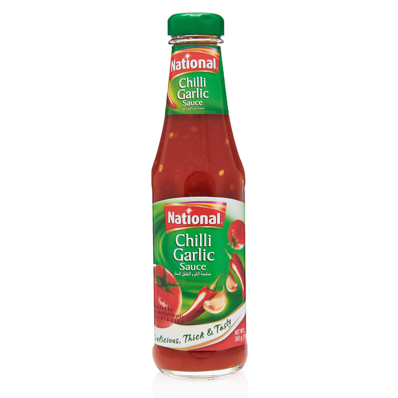 National Chilli Garlic Sauce - Front