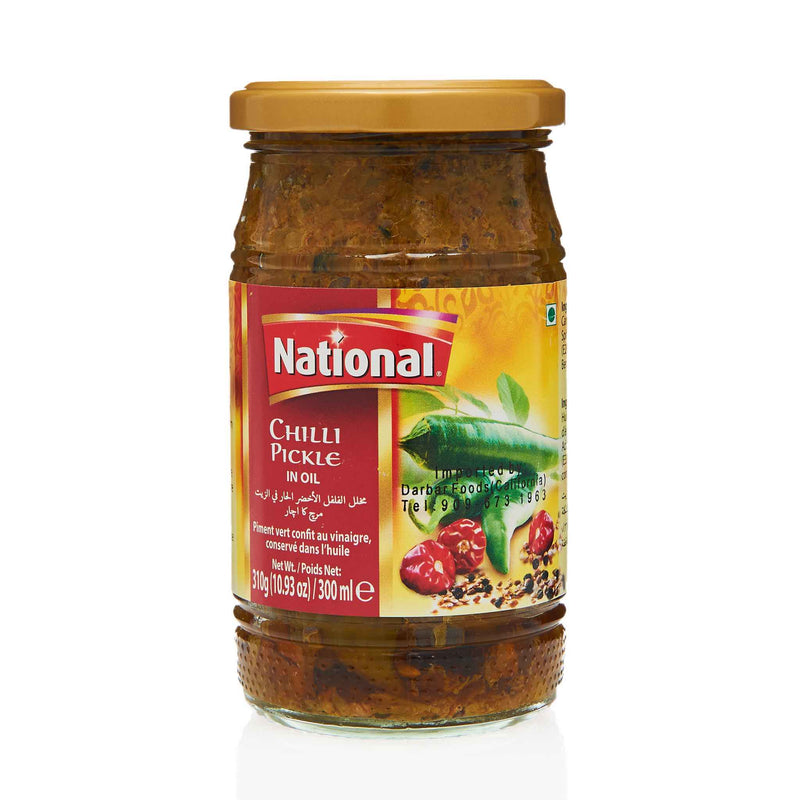National Chilli Pickle - Front