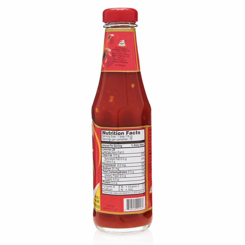 National Hot & Spicy Sauce - Nutritional Facts