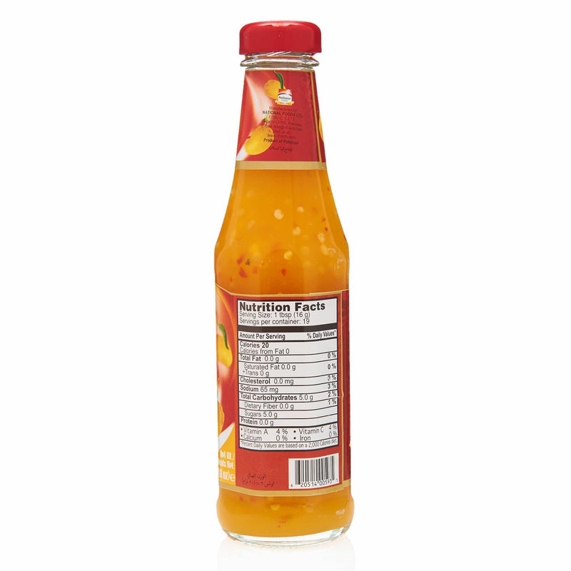 National Mango Chilli Sauce - Nutritional Facts