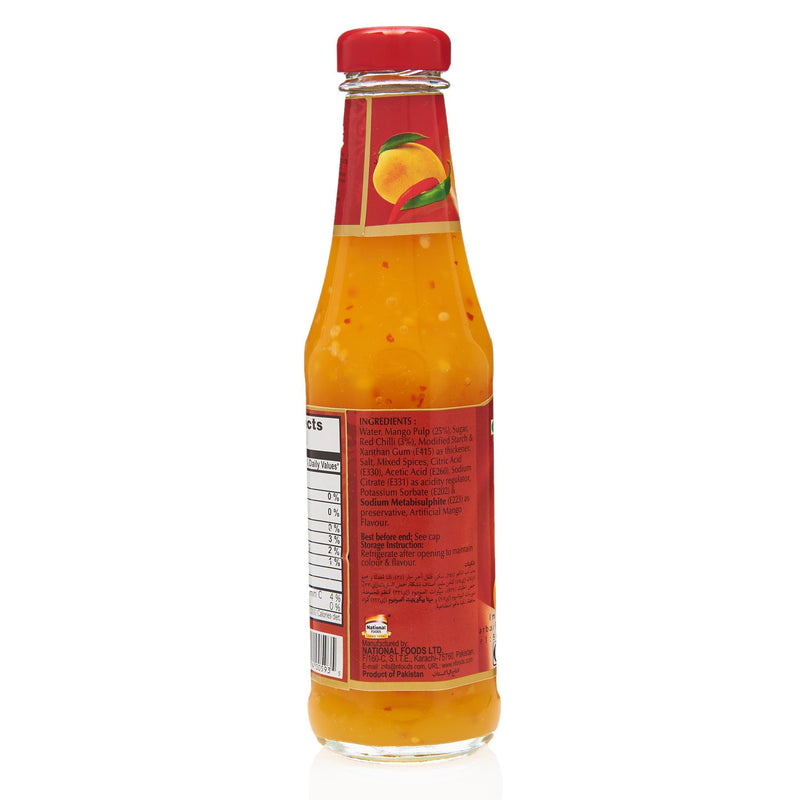National Mango Chilli Sauce - Ingredients