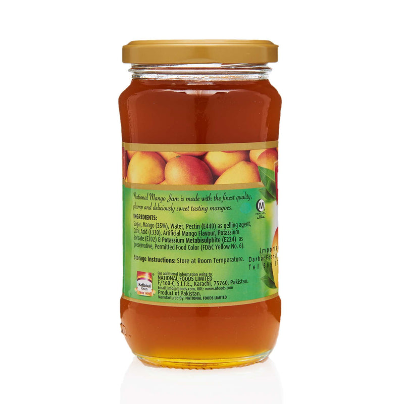 National Mango Jam - Ingredients