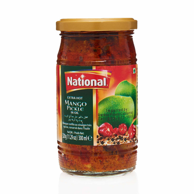 National Extra Hot Mango Pickle - Front