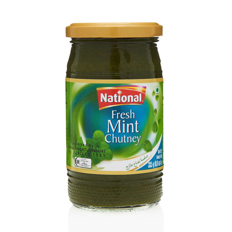 National Mint Chutney - Front