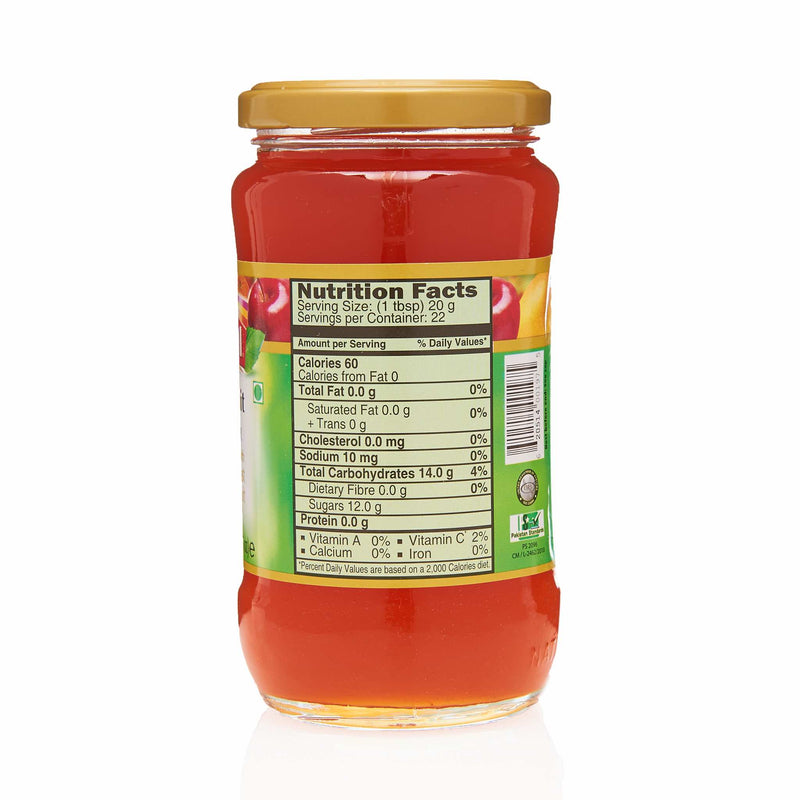National Mixed Fruit Jam - Nutritional Facts