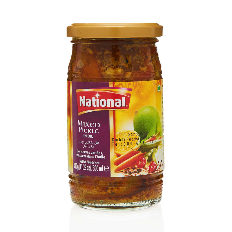 National Mixed Pickle - Front