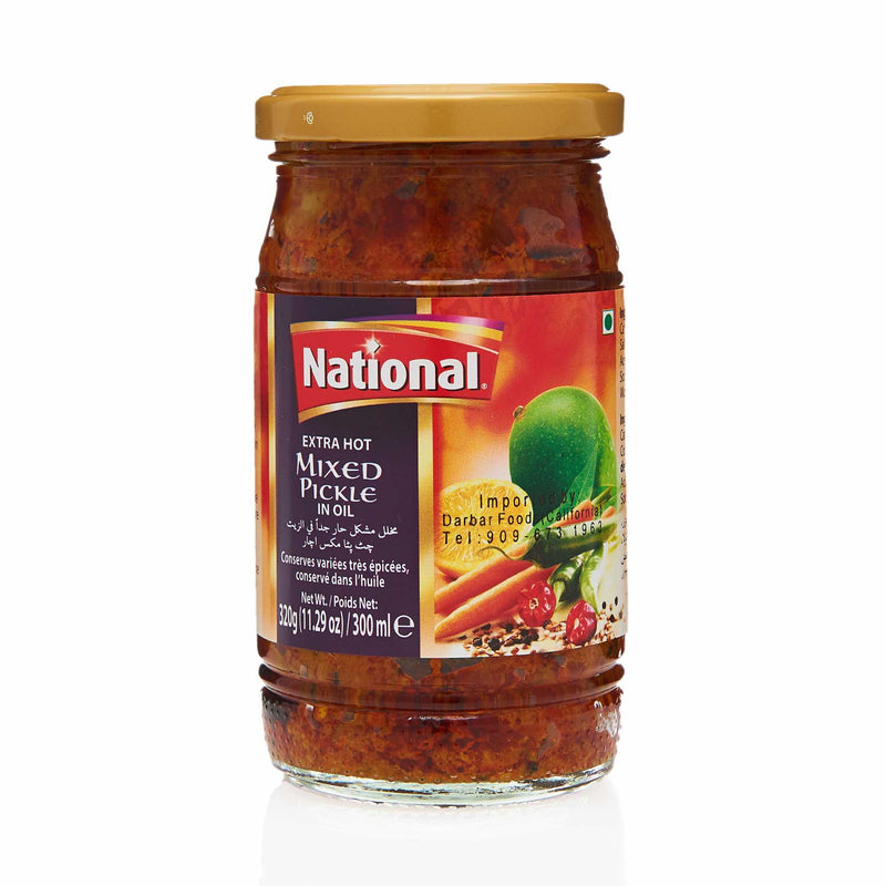 National Extra Hot Mixed Pickle - Front