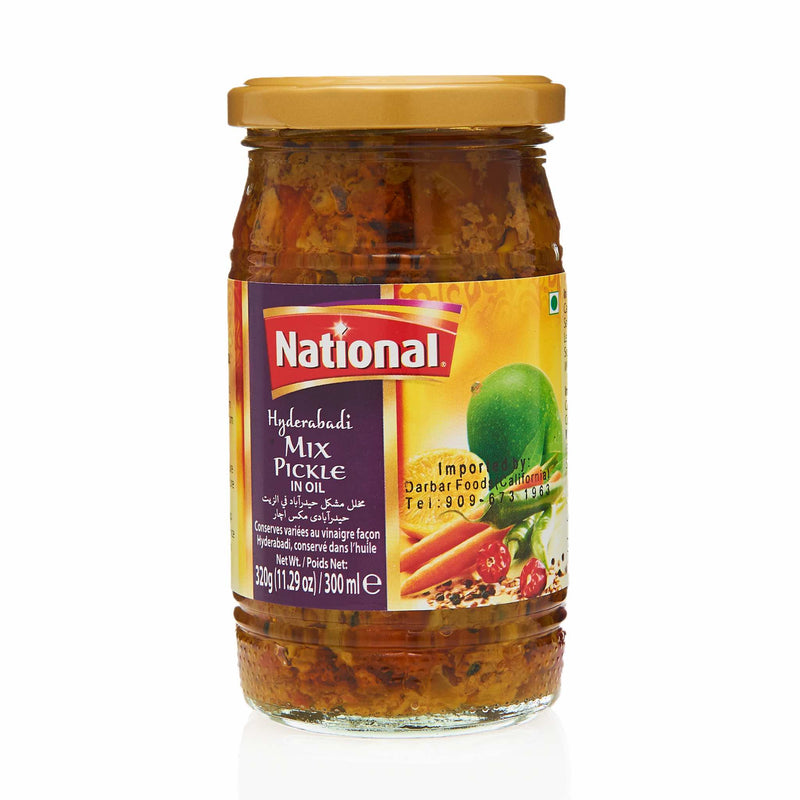 National Hyderabadi Mixed Pickle - Front