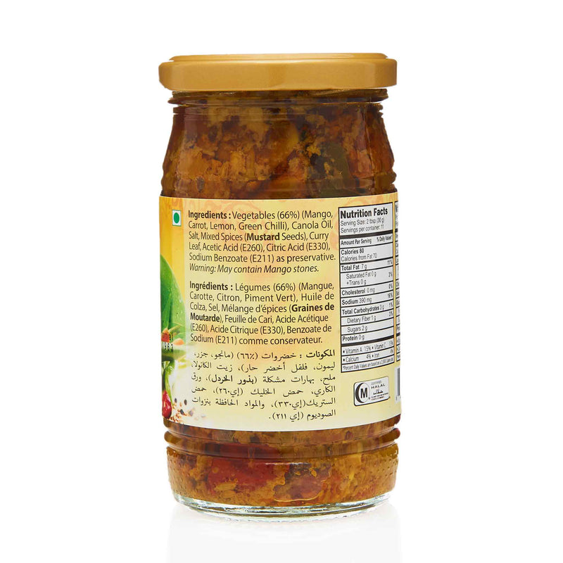 National Hyderabadi Mixed Pickle - Ingredients