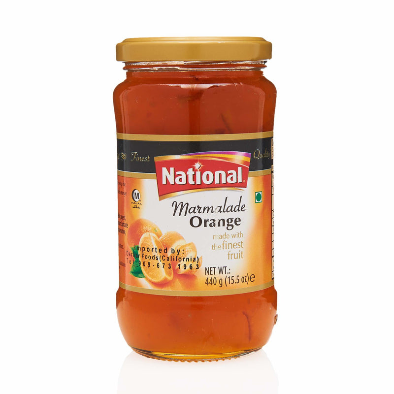 National Orange Marmalade Jam - Front