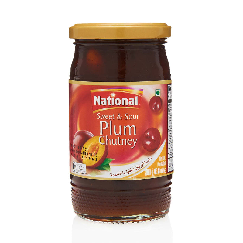 National Plum Chutney - Front