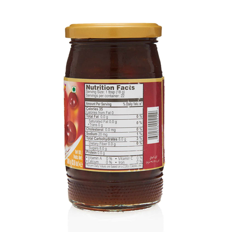National Plum Chutney - Nutritional Facts