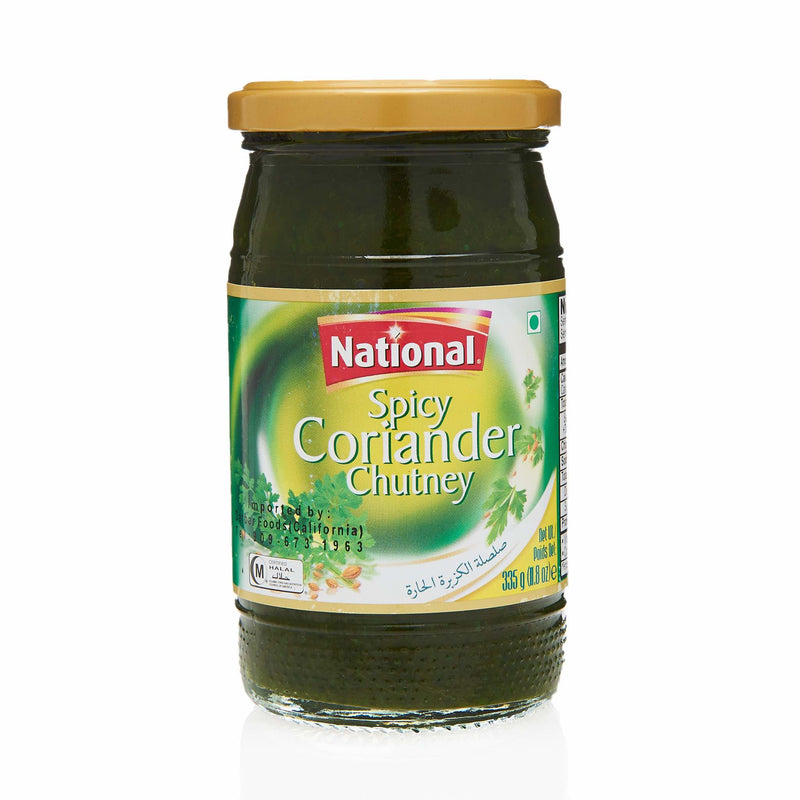 National Coriander Chutney - Front