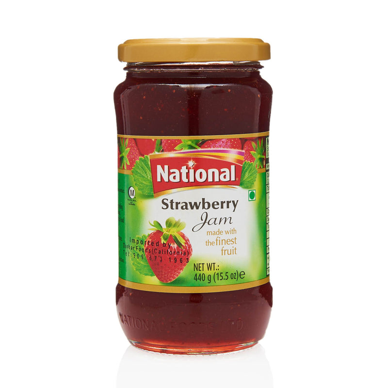 National Strawberry Jam - Front