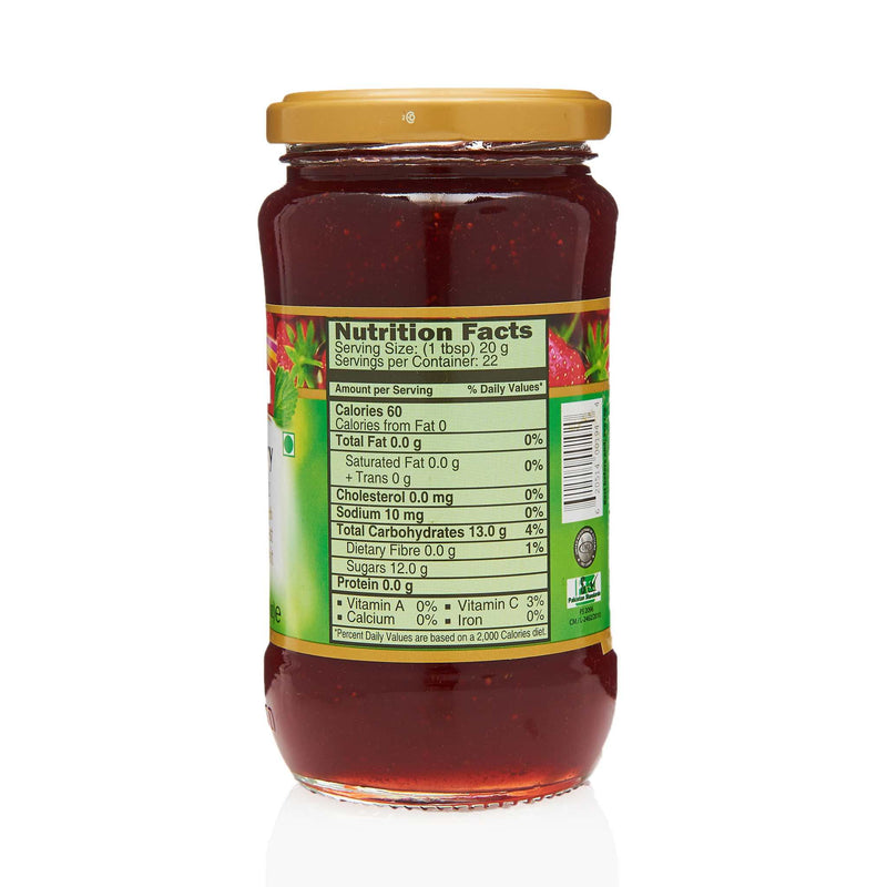 National Strawberry Jam - Nutritional Facts