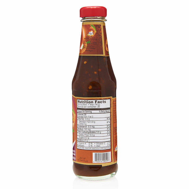 National Tangy Tamarind Chutney - Nutritonal Facts