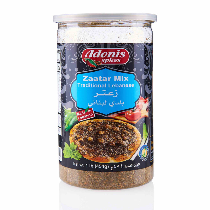 Adonis Lebanese Style Zaatar Mix - Front