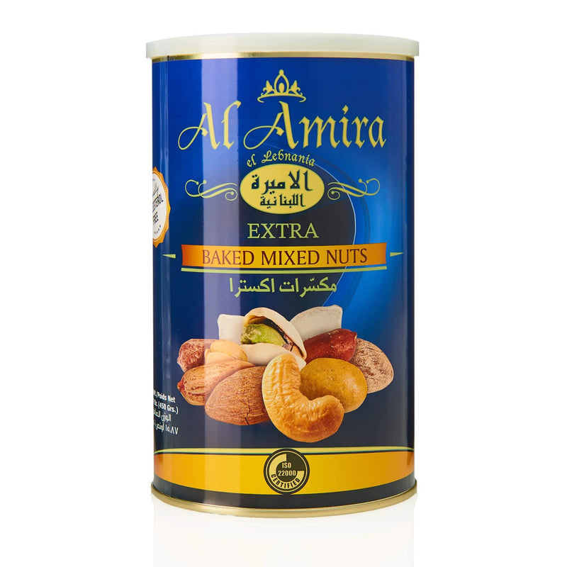 Al Amira Baked Mixed Nuts - Front