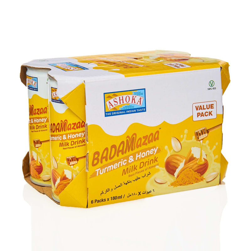 Ashoka Turmeric & Honey Milk Drink - 6 pack