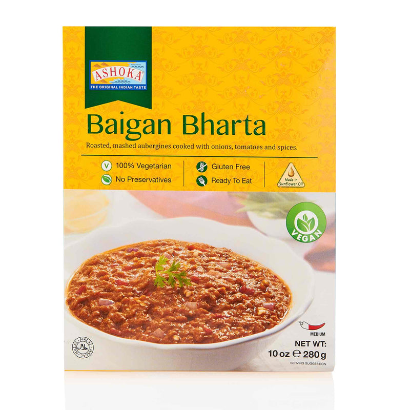 Ashoka Baigan Bharta Ready to Eat Meal - Front