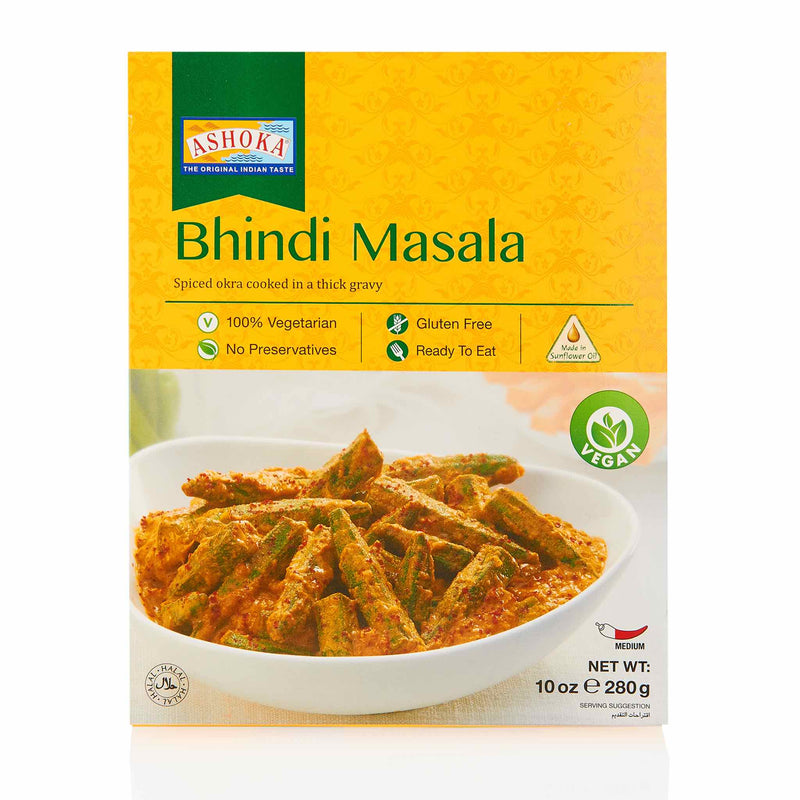 Ashoka Bhindi Masala Ready to Eat Meal - Front
