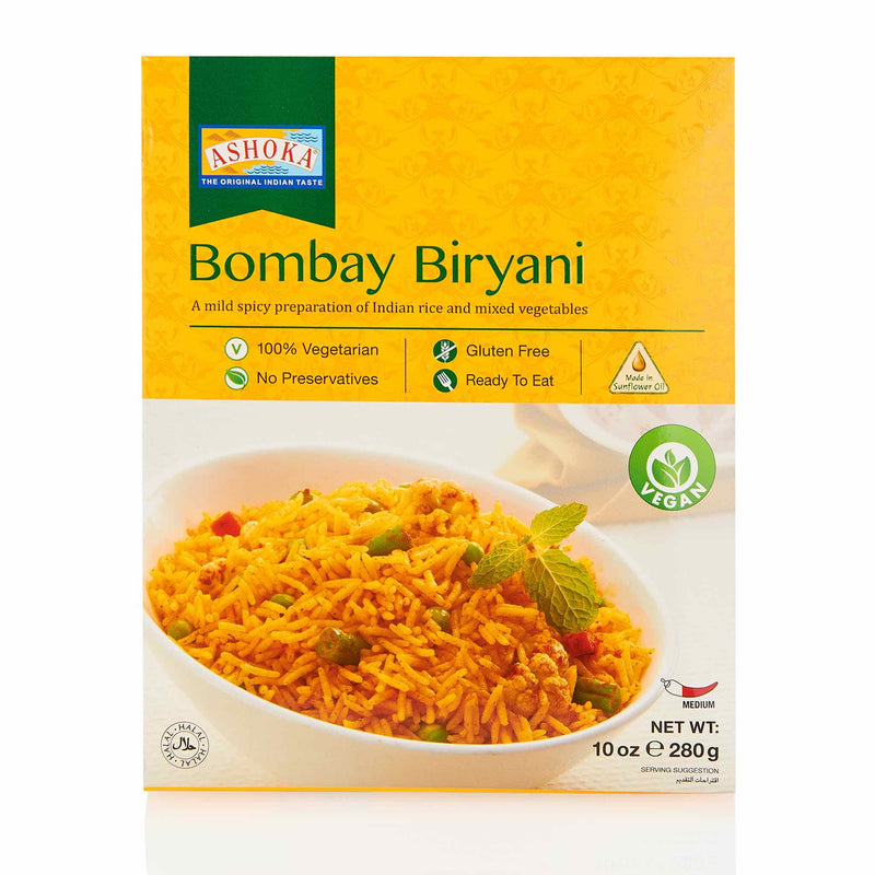 Ashoka Bombay Biryani Ready to Eat Meal - Front