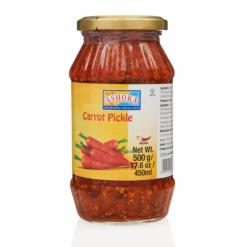 Ashoka Carrot Pickle - Front