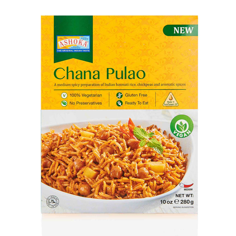 Ashoka Chana Pulao Ready to Eat Meal - Front